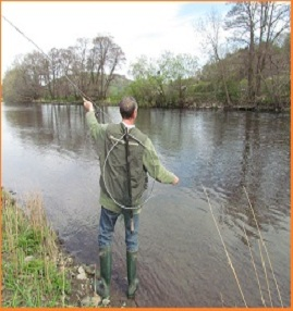 Fishing Lessons in Wales by James Waltham Fly Fishing and Guide