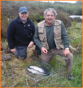 fishing wales with j w fly fishing