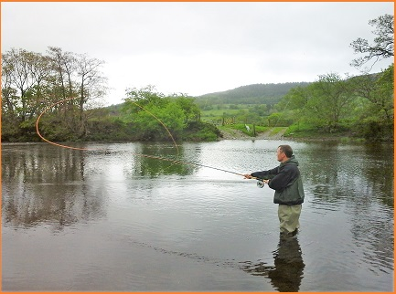 North Wales Fly Fishing Instructor - James Waltham